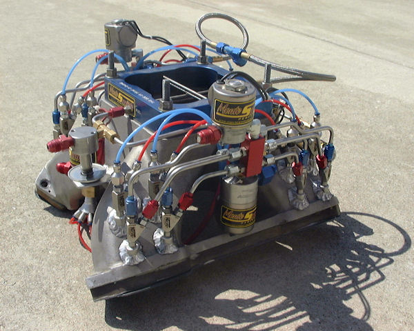 3 Stage Nitrous Setup With Soft Line Monte Smith Dragstuff