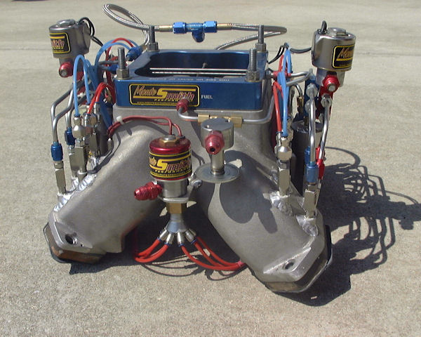 3 stage nitrous setup with soft line - monte smith