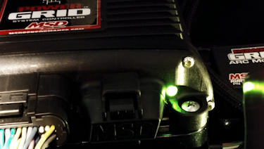MSD Power Grid LED Diagnostics